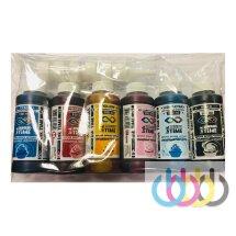 Комплект пищевых чернил ink time 6*100 ml