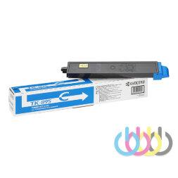 Тонер-картридж Kyocera TK-895С, FS-C8020MFP, FS-C8520MFP, FS-C8525MFP, голубой