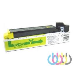 Тонер-картридж Kyocera TK-895Y, FS-C8020MFP, FS-C8520MFP, FS-C8525MFP, желтый