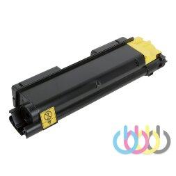 Совместимый Картридж Kyocera TK-590 Yellow, FS-C2026, FS-C2126, FS-C2526, FS-C2626, FS-C5250, FS-C6026