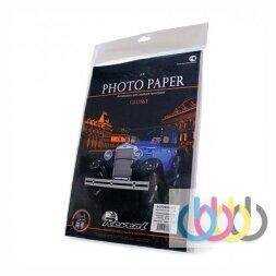 Фотобумага A4, 128г/м2, 25 л., самоклейка, глянцевая односторонняя. Revcol
