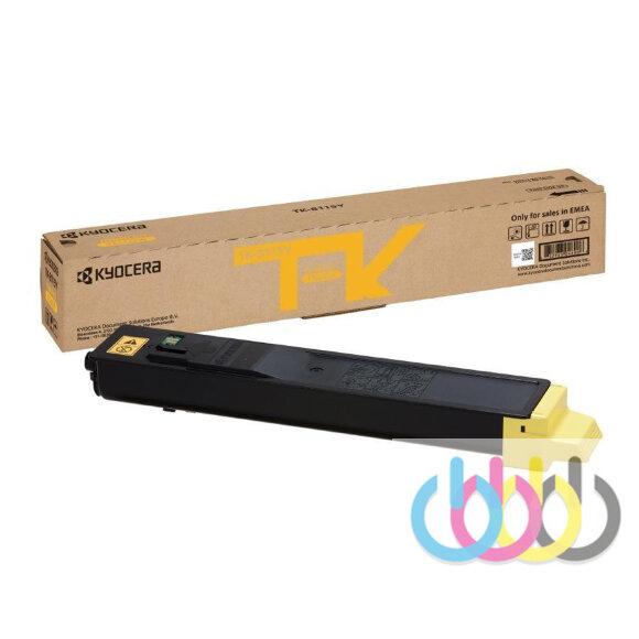 Тонер-картридж Kyocera TK-8115Y, Kyocera ECOSYS M8124cidn, Kyocera ECOSYS M8130cidn