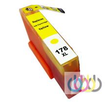 Совместимый Картридж HP 178 XL Yellow, Hp Photosmart B209b, B210b, B211b, C5380, C6375, C6380, D5460, D7560, B8550, 3070a, 5510, 5515, 6510, B010b, B110a