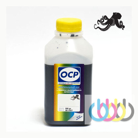 Чернила OCP BKP249 (Black Pigment) для HP, 500г