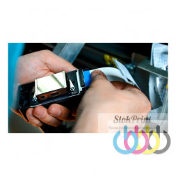 Прочистка печатающей головки Epson L1800, L800, L805, L810, L850, L110, L120, L130, L132, L210, L220, L222, L225, L300, L310, L312, L350, L355, L362, L364, L365, L366, L368, L382, L386, L455, L456, L486
