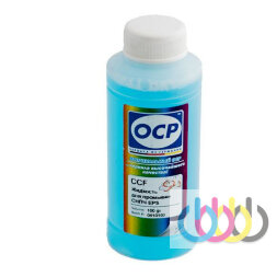 Жидкость OCP CCF for CISS для промывки СНПЧ (светло-голубая), 100 г