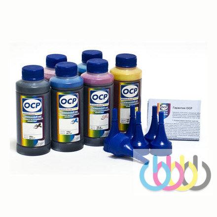 Комплект чернил OCP (BK/C/M/Y 155, ML/CL 156) для принтеров EPSON L800, L801, L810, L850, L1800, без кодов, 100г х 6