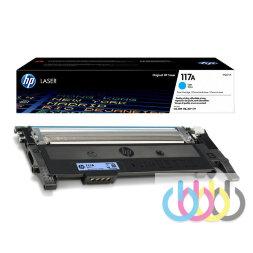Картридж HP W2071A (№117A) Голубой (Cyan), HP Color Laser 150a, HP Color Laser 150nw, HP Color Laser 179fnw, HP Color Laser 178nw