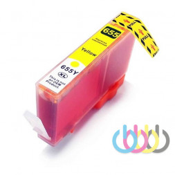 Совместимый Картридж HP 655, Hp Ink Advantage 3525, 4515, 4615, 4625, 5520, 5525, 6525,CZ112AE, Yellow