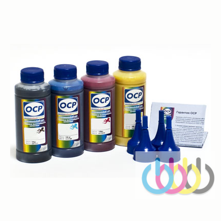 Комплект чернил ОСР для EPSON L605, L655, L1455 (ВКP115, C/M/Y155), 100 g x4