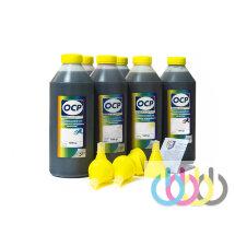 Комплект чернил OCP (BKP/C/M/Y 9142, ВК 9154, ВК 9155) для картриджей HP №72, 1000г x 6