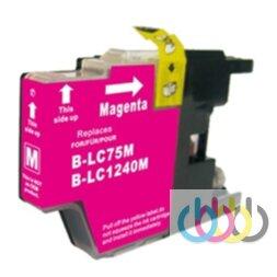 Совместимый Картридж Brother LC1240 Magenta, LC1280, MFC-J430W, 625DW, 825DW, 6510DW, 6710DW, 6910DW