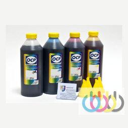 Комплект чернил OCP (BKP/CP/MP/YP 260) для картриджей HP №970/971, 1000г x 4
