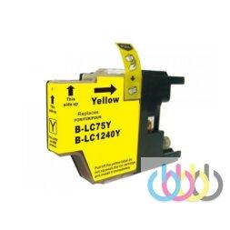 Совместимый Картридж Brother LC1240 Yellow, LC1280, MFC-J430W, 625DW, 825DW, 6510DW, 6710DW, 6910DW
