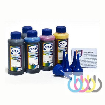 Комплект чернил OCP повышенной светостойкости (BK/С/M/Y 140, ML/CL 141) для принтеров EPSON Stylus Photo P50, PX650, PX700, PX800, T50, TX650, TX659, TX700, TX800, TX810, RX590, RX690, RX610, RX615, 1410, 100г х 6
