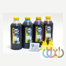 Комплект чернил OCP (BKP/СP/MP/YP 225) для картриджей HP №934/935, 1000г x 4