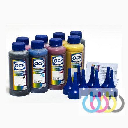Комплект чернил OCP (BKP 114/115/201, CP 115, MP 117, YP 102, CPL/MPL 118) для принтеров EPSON Stylus Photo 2100, Stylus Photo 2200, 100г х 8