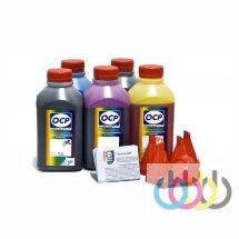 Комплект чернил ОСР для CANON 3600 new (BKP44,BK124,C154,M/Y144), 500г x 5
