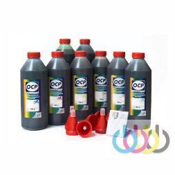 Комплект чернил OCP (BK 157/158/159, C/M/Y 158, CL/ML 159) для картриджей CANON CLI-42, 1000г x 8