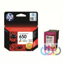Картридж HP 650 Color, Dj Ink Advantage 1015, 1515, 1516, 2515, 2516, 2545, 2546, 2645, 3515, 3545, 4515, CZ102AE