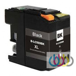 Совместимый Картридж Brother LC569XL Black, MFC-j3520, MFC-J3720