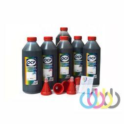 Комплект чернил OCP (BKP 235, Grey 130, BK/M/Y 135, C 712) для картриджей CANON №450/451, 1000г x 6