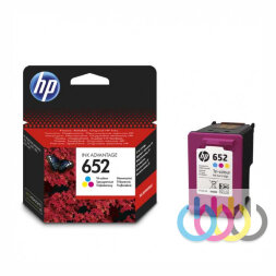 Картридж HP 652 Color, Dj Ink Advantage 4535, 4675,  3835, 1115, 2135, 2136, 3635, 3636, 5275, 5075, 3775, 3785,  3790, 3787, F6V24AE