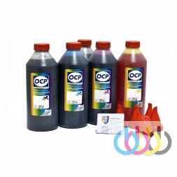 Комплект чернил OCP (BKP 44, BK 124, C 154, M/Y 144) для картриджей CANON №425/426/520/521, 1000г x 5