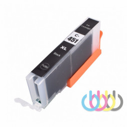 Совместимый Картридж CANON CLI-451 XL Black, Pixma MG5540, MG5440, MG5640, IP7240, MG6440, MX924, IX6840