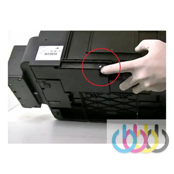 Инструкция по замене абсорбера для отработанных чернил в Epson L120, L200, L210, L222, L300, L350, L355, L486, L550, L555