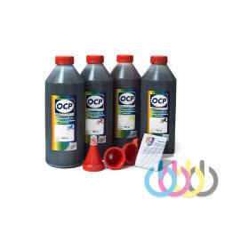 Комплект чернил OCP (BKP/CP/MP/YP 230) для CANON Maxify, 1000г x 4