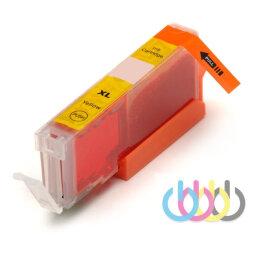 Совместимый Картридж CANON CLI-451 XL Yellow, Pixma MG5540, MG5440, MG5640, IP7240, MG6440, MX924, IX6840