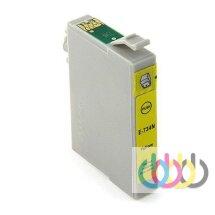 Совместимый Картридж Epson TO734, Stylus C79, CX3900, CX5900, CX6900, CX7300, CX8300, CX9300, T40W, TX200, Yellow