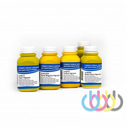 Комплект пигментных чернил IIMAK 279 5 цветов для Epson Ultrachrome K3 Vivid Magenta плоттеров 200г х 5