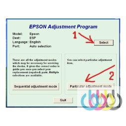Adjustment program Epson XP-235, XP-235A, XP-332, XP-332A, XP-335, XP-432, XP-435