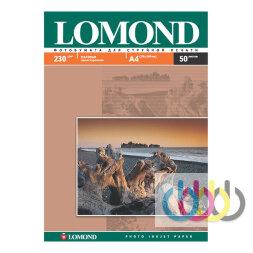 Фотобумага А4, 230 г/м2, 50 л., односторонняя матовая Lomond 0102016