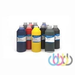 Комплект пигментных чернил IIMAK 279 11 цветов для Epson Ultrachrome HDR/HDX плоттеров с зелёным и оранжевым цветами 1000г х 11