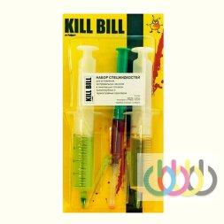 Набор спецжидкостей OCP RSL + Kill Bill от Робика, для устранения глубоких засоров печатающих головок принтеров