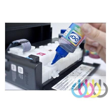 Бесплатный сброс уровня чернил в принтерах Epson L100, L110, L210, L300, L350, L355, L550, L555, L800