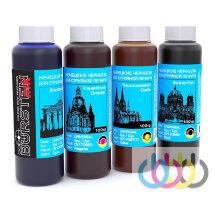 Комплект чернил BURSTEN для принтеров EPSON, L132, L365, L566, L312, L222, L366, L362, L455, L565, L456, L350, L355, L550, L555, L655, 100г х 4