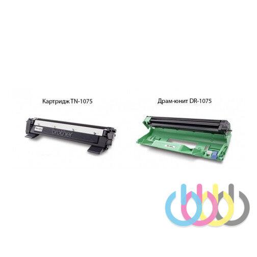 Инструкция Сброс счетчика на принтерах Brother с картриджем TN-1075
