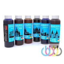 Комплект чернил BURSTEN для принтеров EPSON T50, T59, T60, TX650, TX659, TX700FW, TX710W, TX720WD, TX730WD, 100г х 6