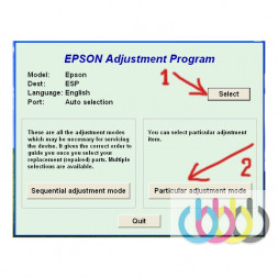 Adjustment program Epson L120