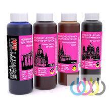 Комплект чернил BURSTEN для принтеров CANON Pixma MG2140, MG2240, MG2440, Pixma G1400, G2400, G3400, 100г х 4