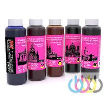 Комплект чернил BURSTEN для принтеров CANON Pixma iP7240, MG5440, MG5540, MG5640, MG6440, MG6640, iX6840, MX924, MG7540, 100г х 5