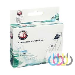 Совместимый Картридж Epson TO632, Stylus C67, C87, CX3700, CX4100, CX4700, CX5700, CX7700, Cyan