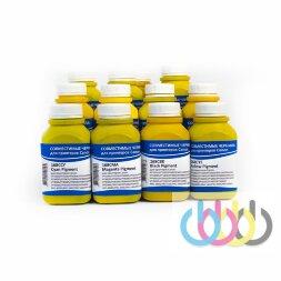 Комплект пигментных чернил IIMAK 168 12 цветов для Canon imagePROGRAF с картриджами PFI-101, PFI-103, PFI-105, PFI-106, PFI-301, PFI-302, PFI-304, PFI-306, PFI-701, PFI-702, PFI-704, PFI-706, 200г х 12