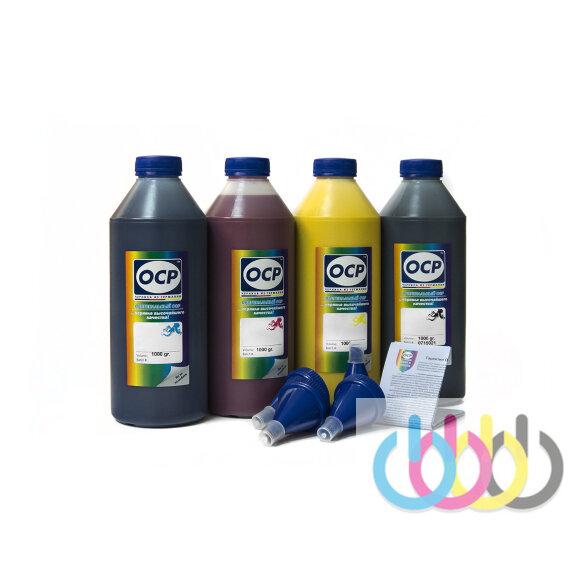 Комплект чернил OCP (BKP/CP 115, MP/YP 102) для принтеров EPSON Stylus C91, S22, SX230, T26, T27, CX4300, TX106, TX117, TX119, C79, TX200, 1000г х 4
