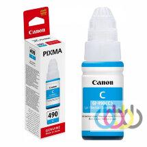 Чернила CANON GI-490 Cyan, PIXMA G1400, G2400, G3400