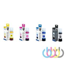 Комплект чернил Revcol 101 для EPSON L4150, L4160, L6160, L6170, L6190, KEY LOCK